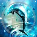 Lg - Delfiny - Kolorowa tapeta nr 3468646