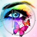 Lg - Oczy - Kolorowa tapeta nr 3548224