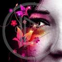 Lg - Oczy - Kolorowa tapeta nr 3550547