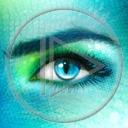 Lg - Oczy - Kolorowa tapeta nr 3551694