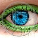Lg - Oczy - Kolorowa tapeta nr 3553423