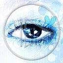 Lg - Oczy - Kolorowa tapeta nr 3569379
