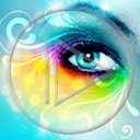 Lg - Oczy - Kolorowa tapeta nr 3574562