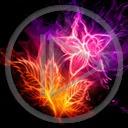 Lg - Kwiaty - Kolorowa tapeta nr 3595622